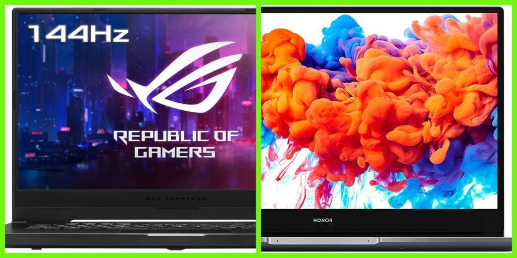 Asus vs Honor: ¿cual es el mejor ordenador portátil?