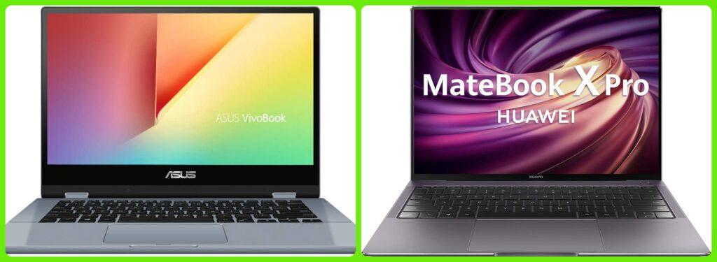 Asus vs Huawei: ¿cual es el mejor ordenador portátil?