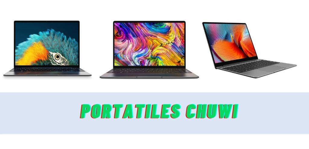 Portátiles Chuwi: características y opiniones (los 4 mejores modelos)