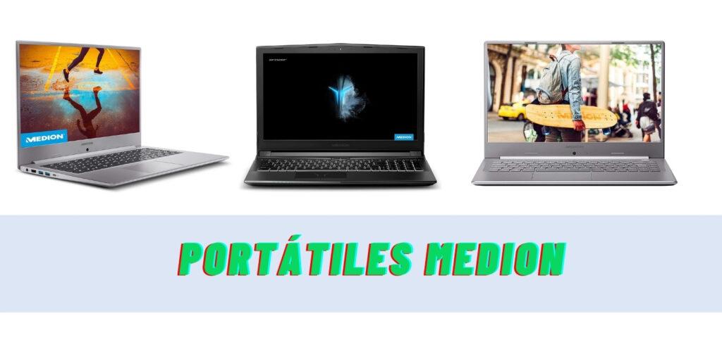 Portátiles Medion: características y opiniones