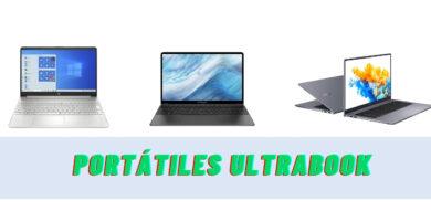 Los 4 mejores portátiles Ultrabook