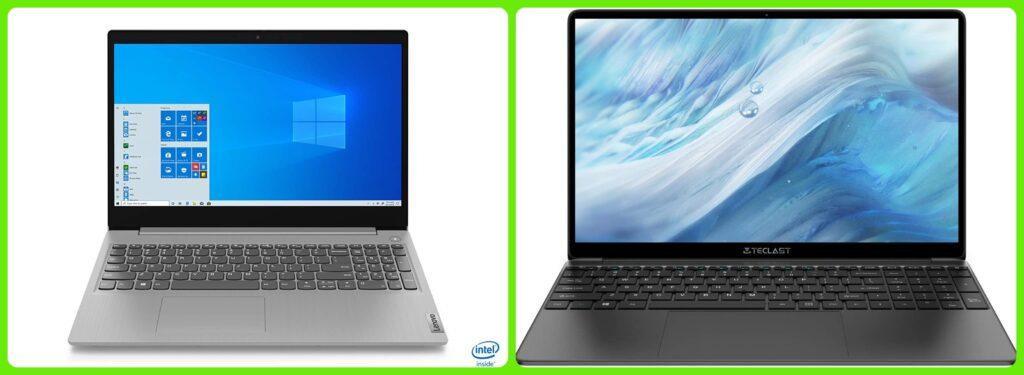 Lenovo vs Teclast: ¿cual es el mejor ordenador portátil?