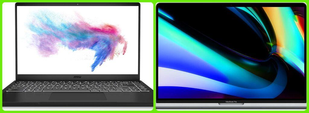 MSI vs Apple: ¿cual es el mejor ordenador portátil?
