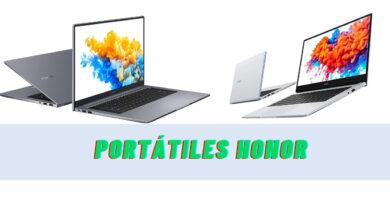 Portátil Honor: los 3 mejores